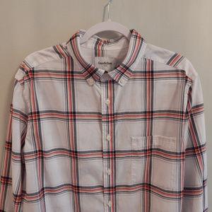 Mens' Plaid Button Down Shirt
